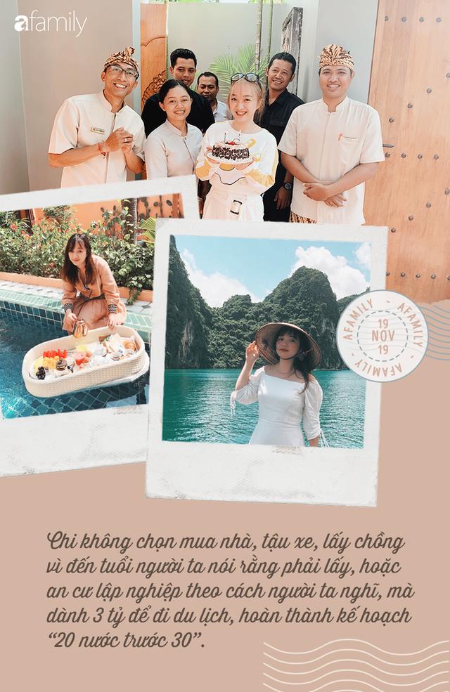 Cô gái 8x dành cả thanh xuân và số tiền đủ mua một căn hộ chung cư ở Hà Nội để thỏa ước nguyện trước 30 tuổi du lịch 20 nước - Ảnh 4.