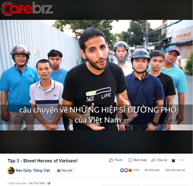Không còn bị chỉ trích giả tạo, video mới về Những hiệp sĩ tay không bắt cướp ở Việt Nam của Nas Daily và Pew Pew nhận nhiều khen ngợi - Ảnh 1.
