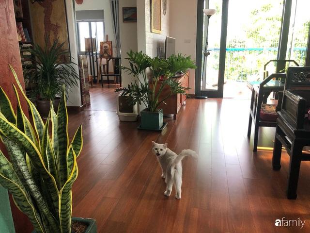 Cuối tuần đến thăm ngôi nhà đẹp tựa bài thơ với vẻ hoài niệm quá khứ của chủ nhân yêu thích trang trí nội thất ở Hà Nội - Ảnh 19.