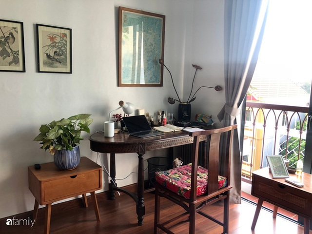Cuối tuần đến thăm ngôi nhà đẹp tựa bài thơ với vẻ hoài niệm quá khứ của chủ nhân yêu thích trang trí nội thất ở Hà Nội - Ảnh 24.