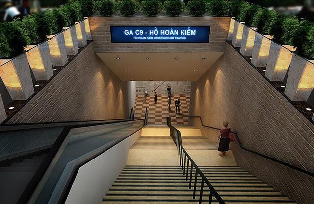 Tuyến Metro qua Hồ Gươm tiếp tục chậm đến năm 2027, đội vốn 16.000 tỷ - Ảnh 1.
