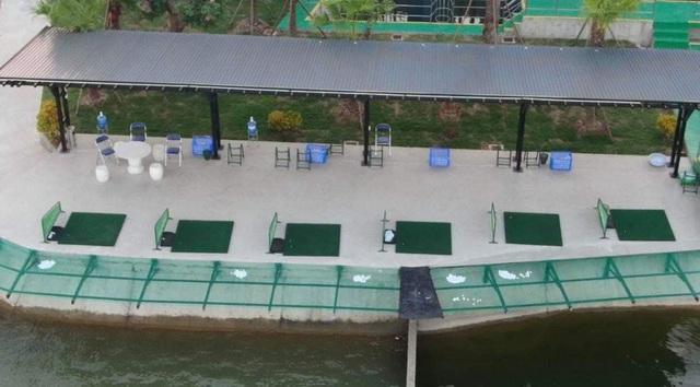 Sân tập golf trong nhà máy nước sông Đuống của Shark Liên biến mất không còn dấu vết - Ảnh 4.