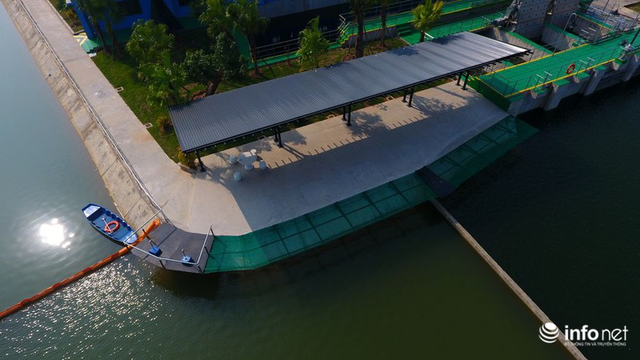 Sân tập golf trong nhà máy nước sông Đuống của Shark Liên biến mất không còn dấu vết - Ảnh 5.