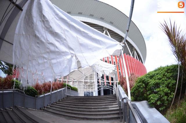 Địa điểm tổ chức lễ khai mạc SEA Games 30: Bất ngờ trước cảnh ngổn ngang, sơ sài của chủ nhà Philippines - Ảnh 8.