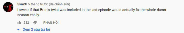 Anh YouTuber tự chế cái kết cực thuyết phục cho Game of Thrones, khán giả khen đỉnh hơn bản gốc nhiều - Ảnh 2.