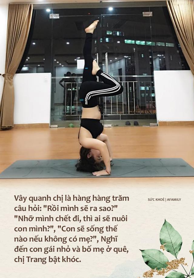 Vượt qua trầm cảm sau cú sốc con gái qua đời rồi phải đối diện với ung thư vòm họng khi 35 tuổi, mẹ đơn thân đi viện mổ một mình, sống vui vẻ, bỏ việc ổn định để làm HLV yoga - Ảnh 3.