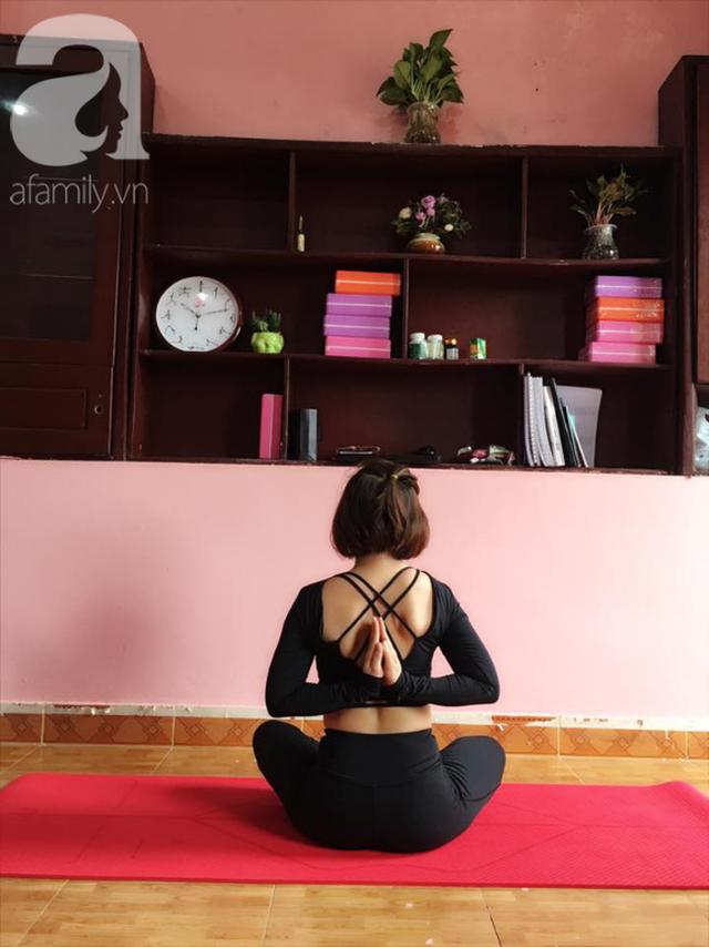 Vượt qua trầm cảm sau cú sốc con gái qua đời rồi phải đối diện với ung thư vòm họng khi 35 tuổi, mẹ đơn thân đi viện mổ một mình, sống vui vẻ, bỏ việc ổn định để làm HLV yoga - Ảnh 10.
