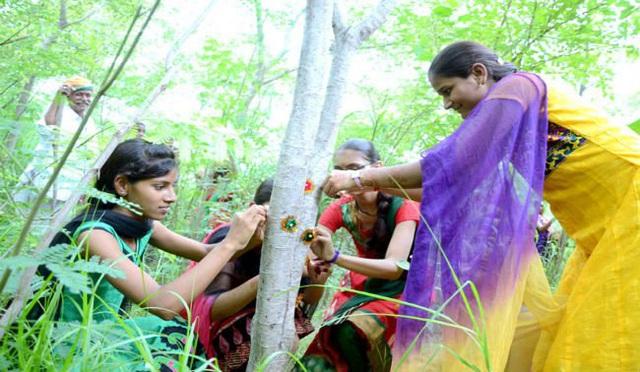 Phong tục tập quán lạ: Làng nghèo ở Ấn Độ trồng 111 cây xanh mỗi một bé gái được sinh ra - Ảnh 4.