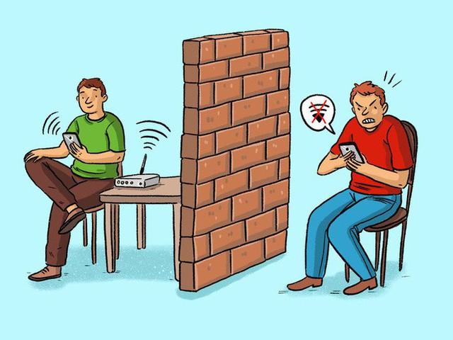 8 thứ trong nhà làm sóng wifi yếu đi mà chúng ta không biết - Ảnh 2.
