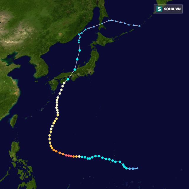 Xuất hiện bão Hạ Long ở Tây Thái Bình Dương: Tăng cấp thành siêu bão tấn công châu Á? - Ảnh 2.