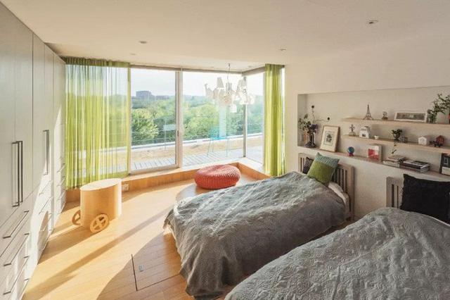 Vợ thu nhập cao xây ngôi nhà 3 tầng view toàn cây xanh và ánh sáng tặng chồng nghỉ hưu ở Nhật - Ảnh 22.