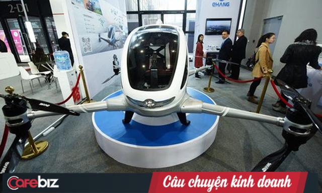 Hãng taxi bay đầu tiên của Trung Quốc nộp hồ sơ IPO tại Mỹ, đặt mục tiêu huy động được 100 triệu USD cho tham vọng vận tải bằng drone - Ảnh 1.