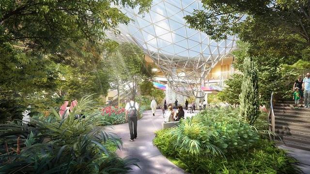Thiết kế độc lạ của nhà ga sân bay Changi Singapore bị tố đạo ý tưởng - Ảnh 1.