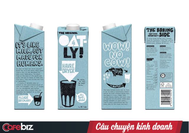 Sa thải cả phòng Marketing, hãng sữa yến mạch Thụy Điển Oatly lột xác từ bình dân thành xa xỉ, làm lung lay cả đế chế sữa bò! - Ảnh 3.