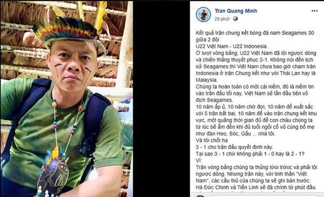 BTV Quang Minh dự đoán bất ngờ về Quang Hải ở trận U22 Việt Nam - U22 Indonesia - Ảnh 1.