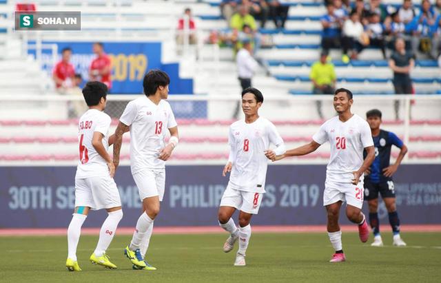 Sao gốc Việt chết đứng trên chấm 11m, Campuchia mất huy chương SEA Games đầy tiếc nuối - Ảnh 3.
