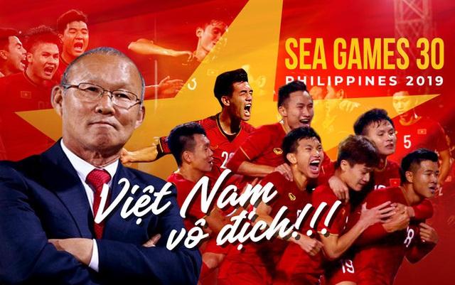 Bầu Đức: Cảm ơn HLV Park Hang Seo giúp Việt Nam giành HCV sau 60 năm - Ảnh 1.