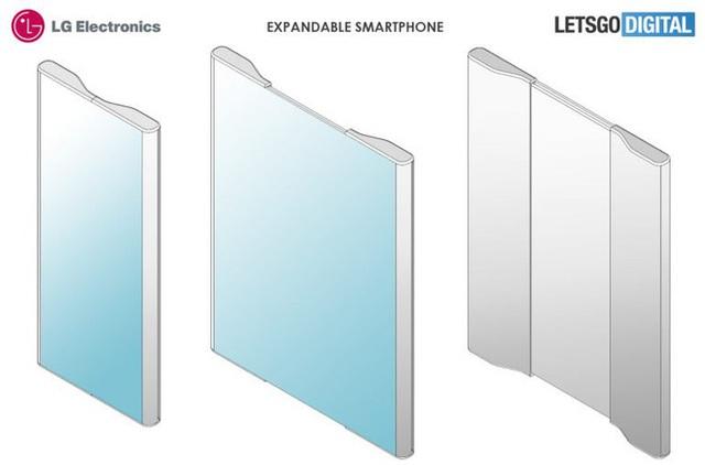 Teléfono inteligente de desplazamiento de una cara patentado por Xiaomi - Foto 2.