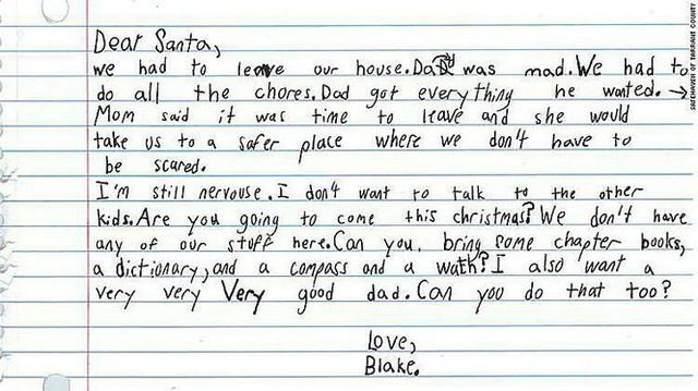 Xúc động lá thư của bé trai 7 tuổi xin ông già Noel tặng một người bố tốt - Ảnh 1.