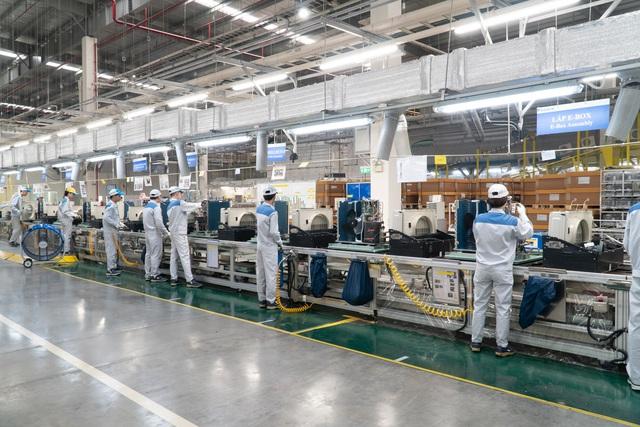 Khám phá nhà máy Daikin trị giá 72 triệu USD thông minh nhất thế giới: 25 giây sản xuất 1 máy lạnh, quản lý bằng công nghệ IoT, chuyên chở linh kiện bằng xe tự hành… - Ảnh 9.