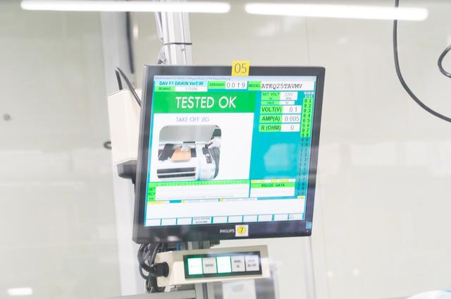 Khám phá nhà máy Daikin trị giá 72 triệu USD thông minh nhất thế giới: 25 giây sản xuất 1 máy lạnh, quản lý bằng công nghệ IoT, chuyên chở linh kiện bằng xe tự hành… - Ảnh 16.