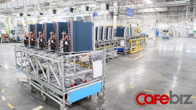Khám phá nhà máy Daikin trị giá 72 triệu USD thông minh nhất thế giới: 25 giây sản xuất 1 máy lạnh, quản lý bằng công nghệ IoT, chuyên chở linh kiện bằng xe tự hành… - Ảnh 6.