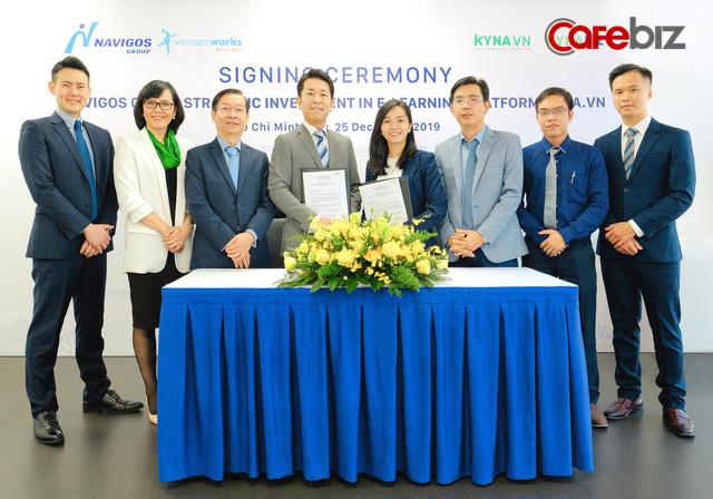 Startup Việt bán phần lớn cổ phần Kyna.vn cho ông lớn tuyển dụng Navigos Group - Ảnh 1.