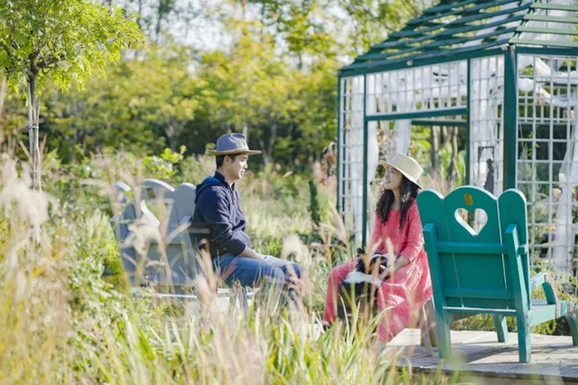 Cặp vợ chồng trẻ dành 5 năm để biến khu đất hoang rộng 6000m² thành khu vườn thiên đường của cỏ cây, hoa lá - Ảnh 2.