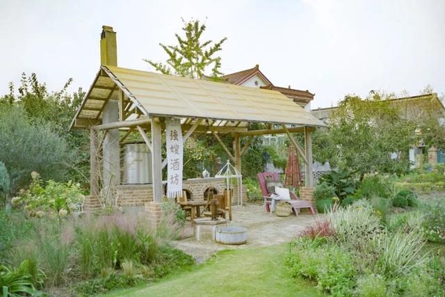 Cặp vợ chồng trẻ dành 5 năm để biến khu đất hoang rộng 6000m² thành khu vườn thiên đường của cỏ cây, hoa lá - Ảnh 12.