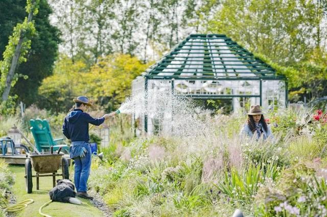 Cặp vợ chồng trẻ dành 5 năm để biến khu đất hoang rộng 6000m² thành khu vườn thiên đường của cỏ cây, hoa lá - Ảnh 16.