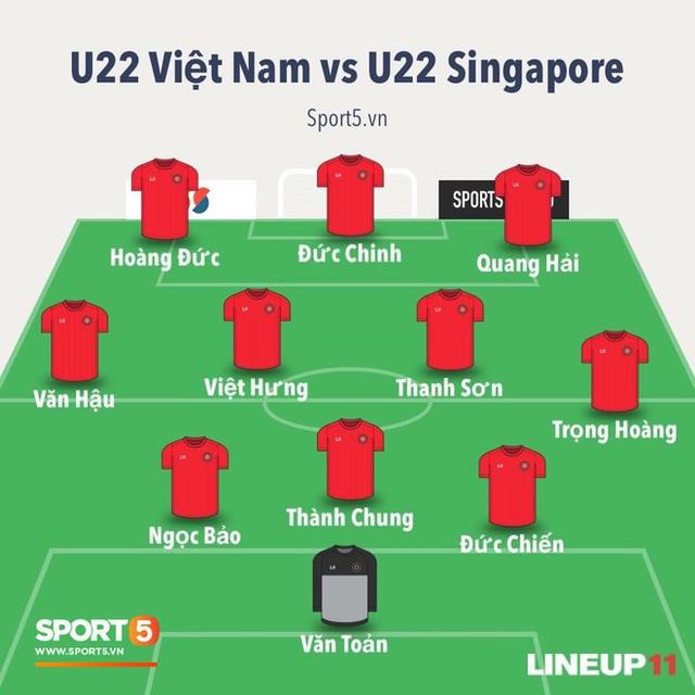 BTV Quốc Khánh cũng ngồi dự bị như Bùi Tiến Dũng trong chương trình bình luận trước trận U22 Việt Nam vs U22 Singapore - Ảnh 3.