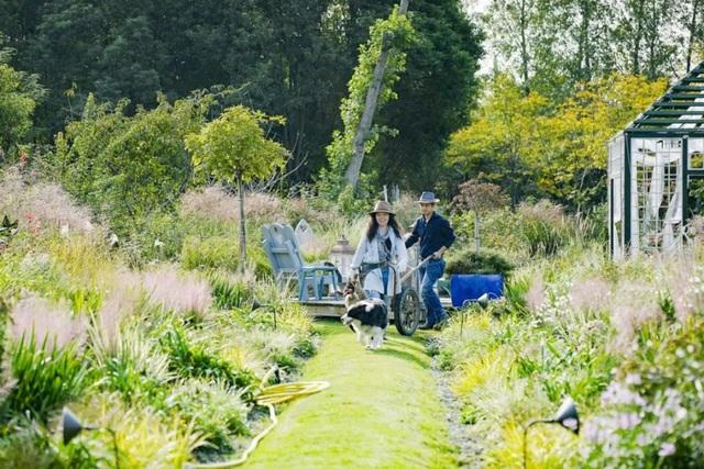 Cặp vợ chồng trẻ dành 5 năm để biến khu đất hoang rộng 6000m² thành khu vườn thiên đường của cỏ cây, hoa lá - Ảnh 29.