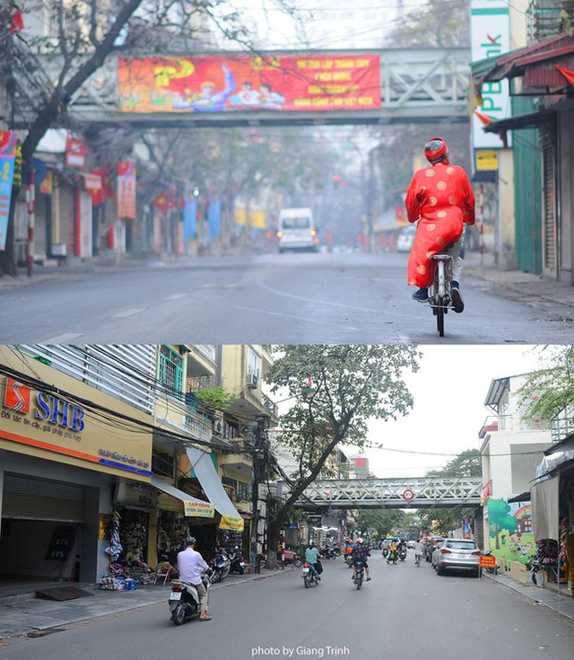 Chùm ảnh: Sự đổi thay ngỡ ngàng của những con phố cổ xưa trong lòng Hà Nội suốt 1 thập kỷ, nhìn lại ai cũng thấy mênh mang - Ảnh 8.