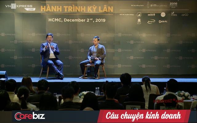 Được Chủ tịch FPT hỏi có phẩm chất gì để trở thành decacorn, CEO Tiki khoe luôn học hỏi mỗi ngày và không bao giờ bỏ cuộc, nhưng lại bị đàn anh Trương Gia Bình trừ điểm - Ảnh 1.