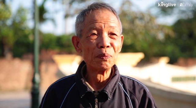 Cụ ông 74 tuổi với tuổi thơ mồ côi và tình cảm dành cho quê nhà, quyên góp 1,8 tỷ đồng để cải tạo ao tù hôi thối thành công viên - Ảnh 3.