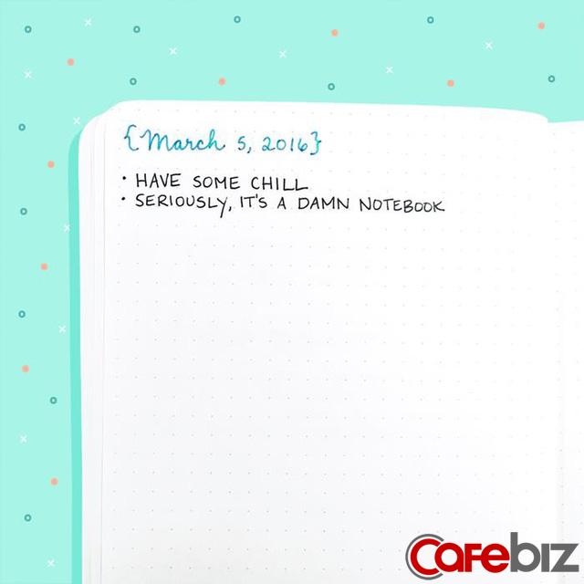 Nếu đang cần sắp xếp kế hoạch cho năm 2020, phương pháp bullet journal sẽ cực kỳ hữu ích dành cho bạn! - Ảnh 17.