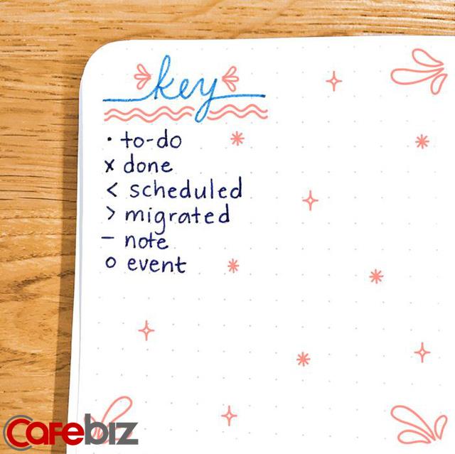 Nếu đang cần sắp xếp kế hoạch cho năm 2020, phương pháp bullet journal sẽ cực kỳ hữu ích dành cho bạn! - Ảnh 6.