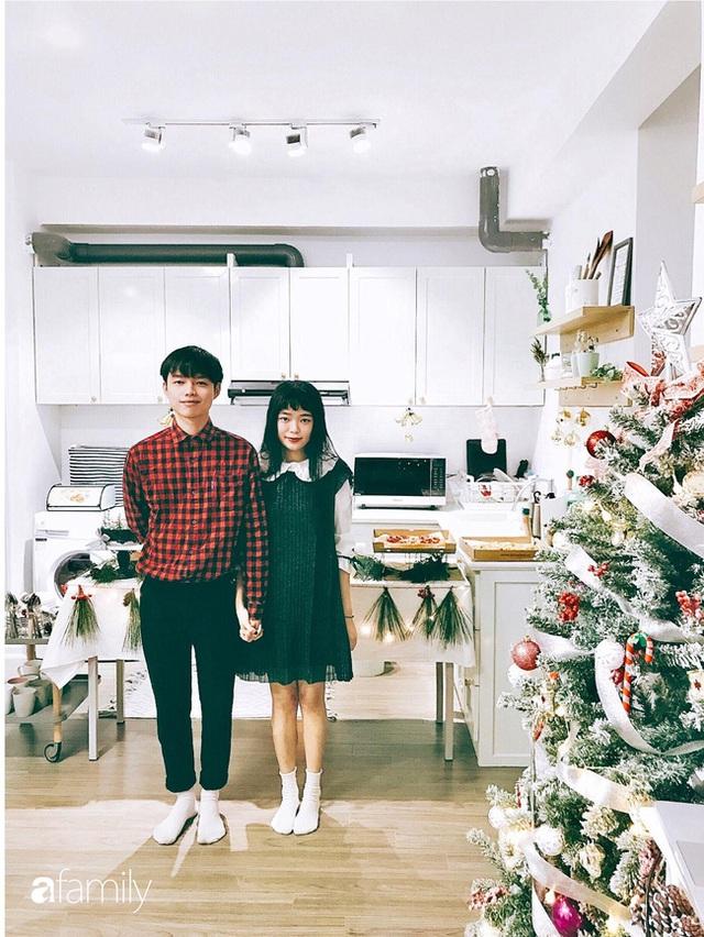 Căn hộ 60m² với gam màu xanh bạc hà vô cùng cuốn hút của cặp vợ chồng trẻ Sài Gòn - Ảnh 2.
