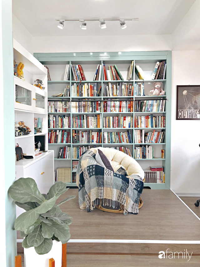Căn hộ 60m² với gam màu xanh bạc hà vô cùng cuốn hút của cặp vợ chồng trẻ Sài Gòn - Ảnh 25.