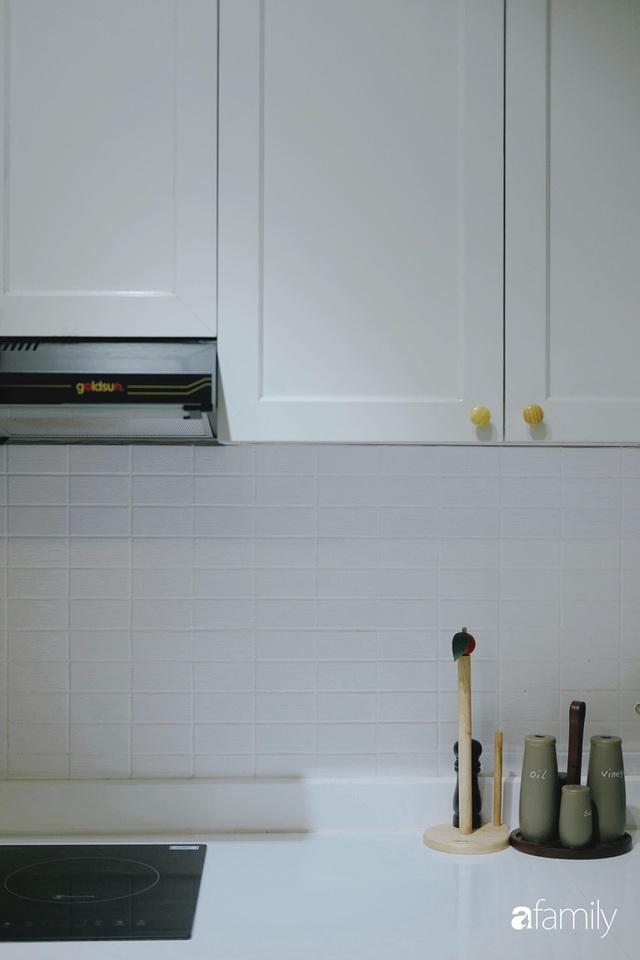 Căn hộ 60m² với gam màu xanh bạc hà vô cùng cuốn hút của cặp vợ chồng trẻ Sài Gòn - Ảnh 4.