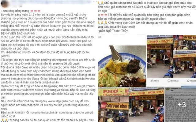 Chủ quán cơm ở cổng BV Bạch Mai bị tố 'chặt chém' lên tiếng - Ảnh 5.