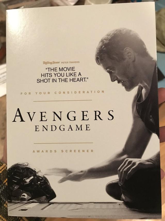 Marvel chính thức gửi screener Avengers: Endgame cho hội đồng Oscar 2020, cuộc chạy đua tượng vàng bắt đầu! - Ảnh 1.