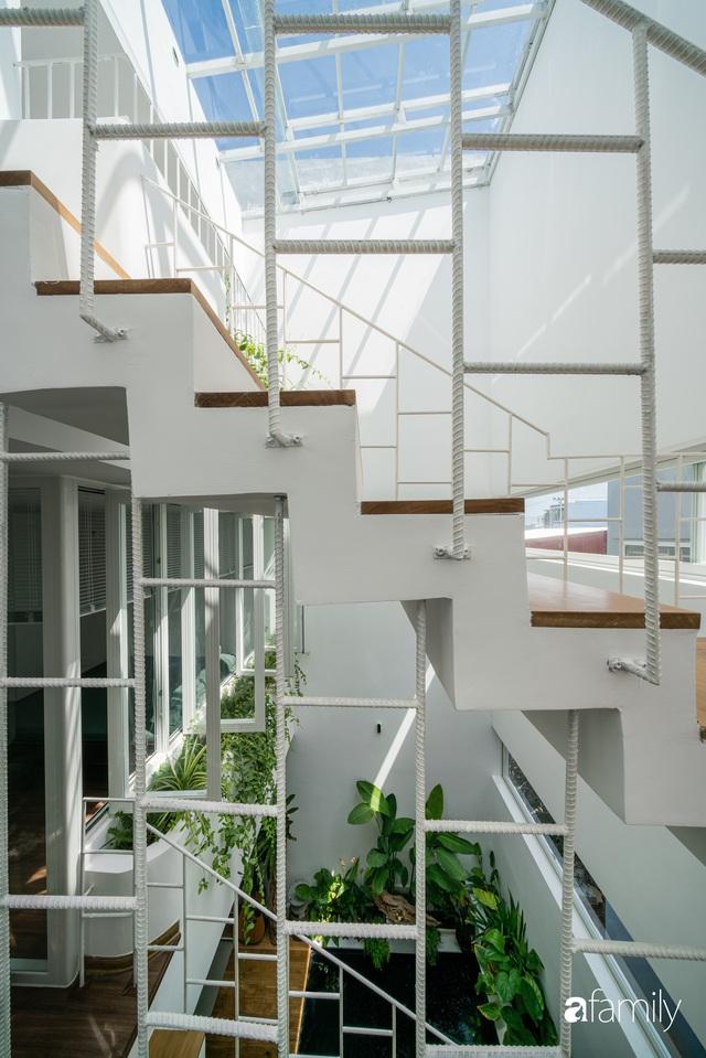 Ngôi nhà nhỏ trong lành và duyên dáng với cây xanh thân thiện của cặp vợ chồng mới cưới ở TP. Đà Nẵng - Ảnh 19.