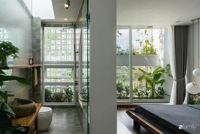 Ngôi nhà nhỏ trong lành và duyên dáng với cây xanh thân thiện của cặp vợ chồng mới cưới ở TP. Đà Nẵng - Ảnh 21.