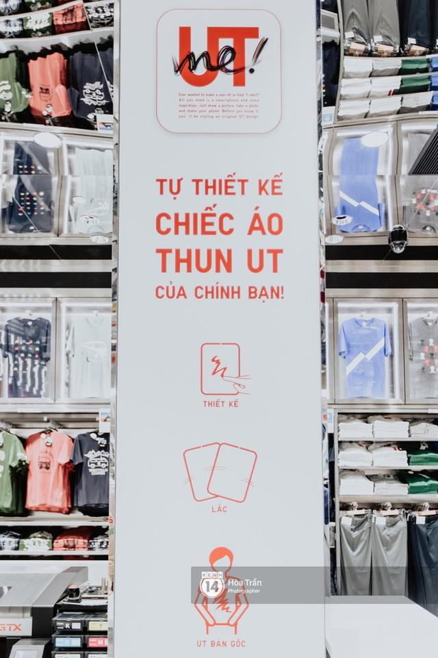 HOT HIT: Những hình ảnh rõ nét xịn sò đầu tiên bên trong store UNIQLO Việt Nam trước ngày khai trương - Ảnh 5.