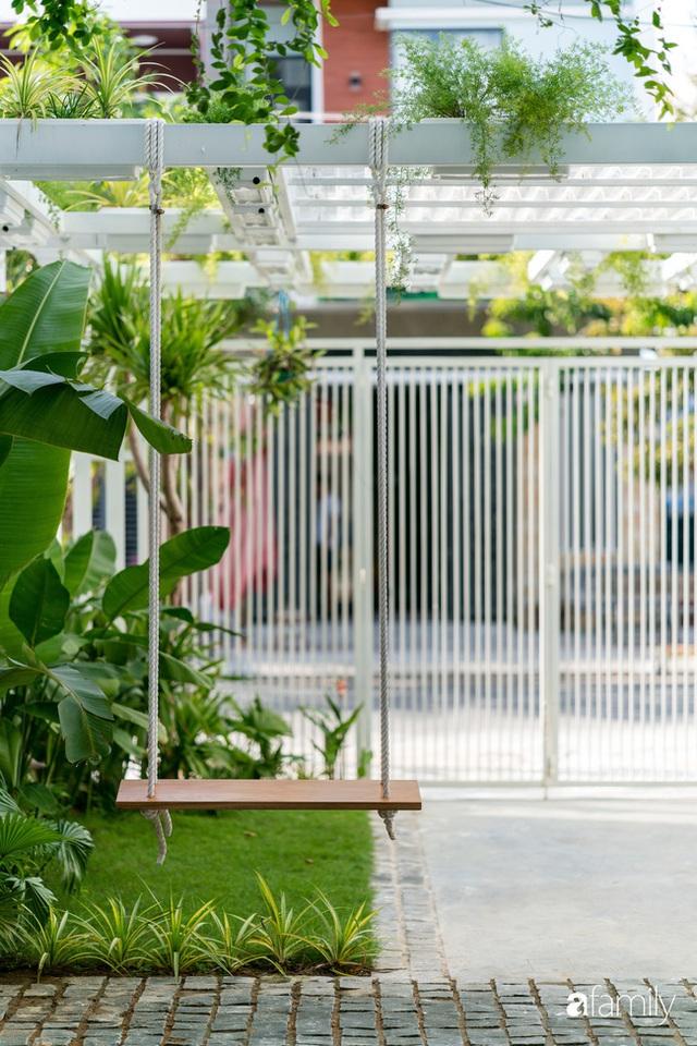 Ngôi nhà nhỏ trong lành và duyên dáng với cây xanh thân thiện của cặp vợ chồng mới cưới ở TP. Đà Nẵng - Ảnh 4.