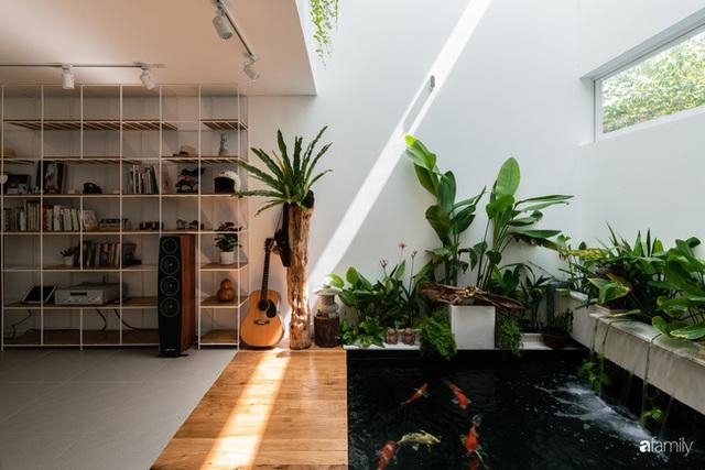 Ngôi nhà nhỏ trong lành và duyên dáng với cây xanh thân thiện của cặp vợ chồng mới cưới ở TP. Đà Nẵng - Ảnh 5.