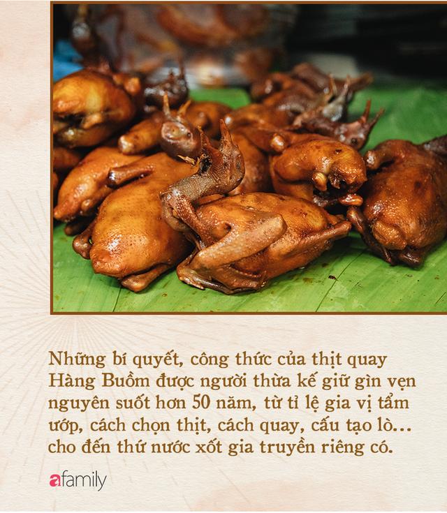 Bí mật thành công của hàng thịt quay lâu đời nhất Hà Nội, hơn 50 năm vẫn khiến khách xếp hàng dài như trẩy hội mỗi chiều - Ảnh 12.