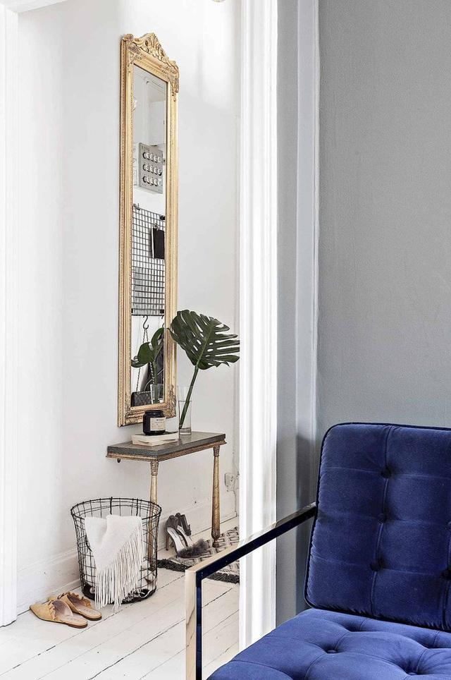Học cách bài trí nhà đẹp lại rộng thênh thang như căn hộ màu trắng rộng 62m² dưới đây - Ảnh 13.