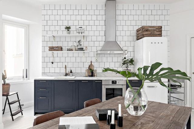 Học cách bài trí nhà đẹp lại rộng thênh thang như căn hộ màu trắng rộng 62m² dưới đây - Ảnh 3.
